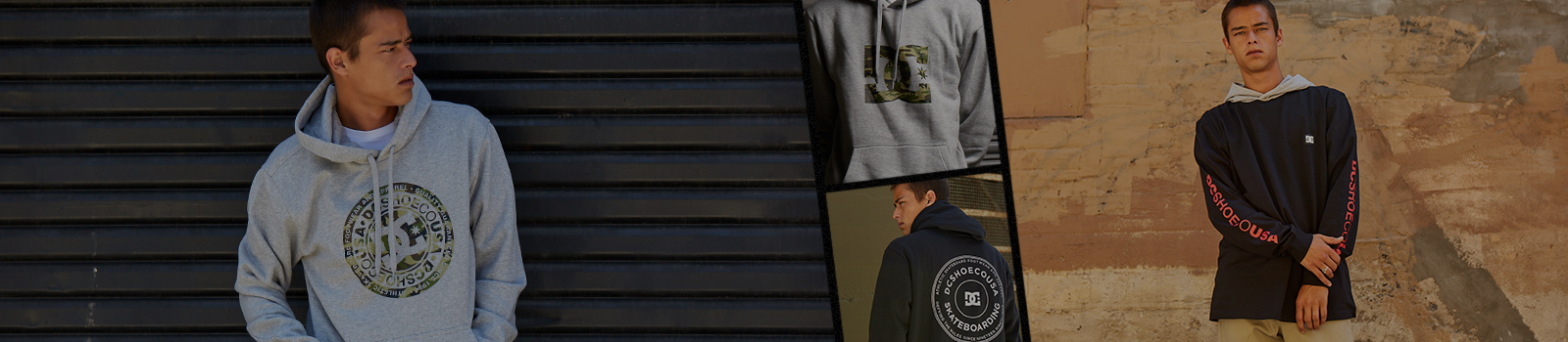 Mens Hoodies & Sweatshirts from DC Shoes