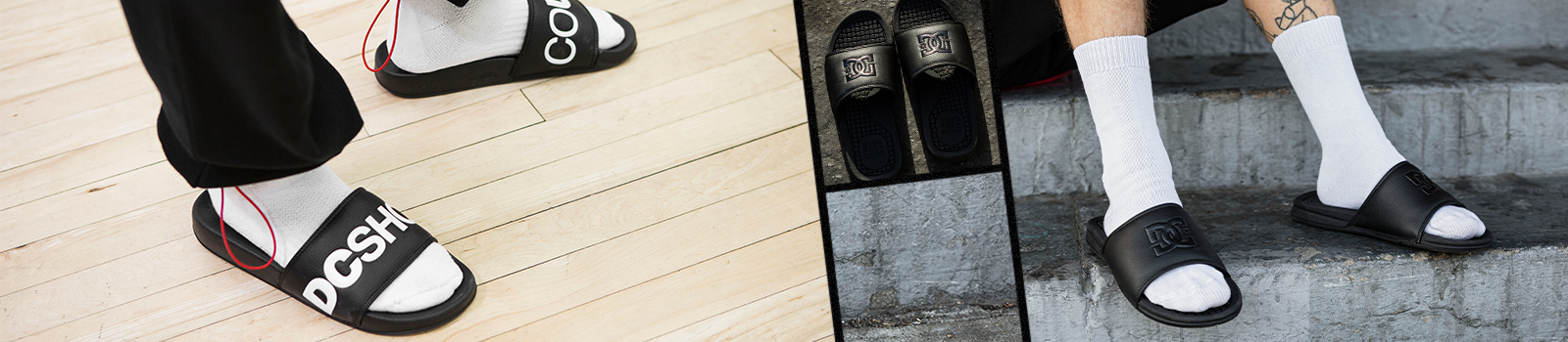 Mens Sandals & Flip Flops from DC Shoes