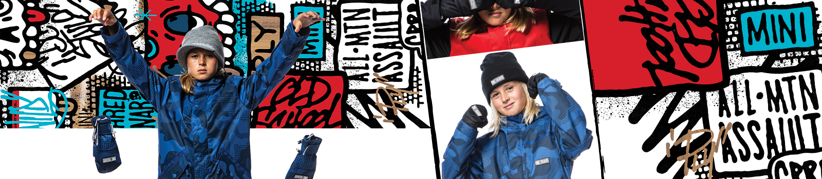 Kids Snow Beanies from DC Shoes